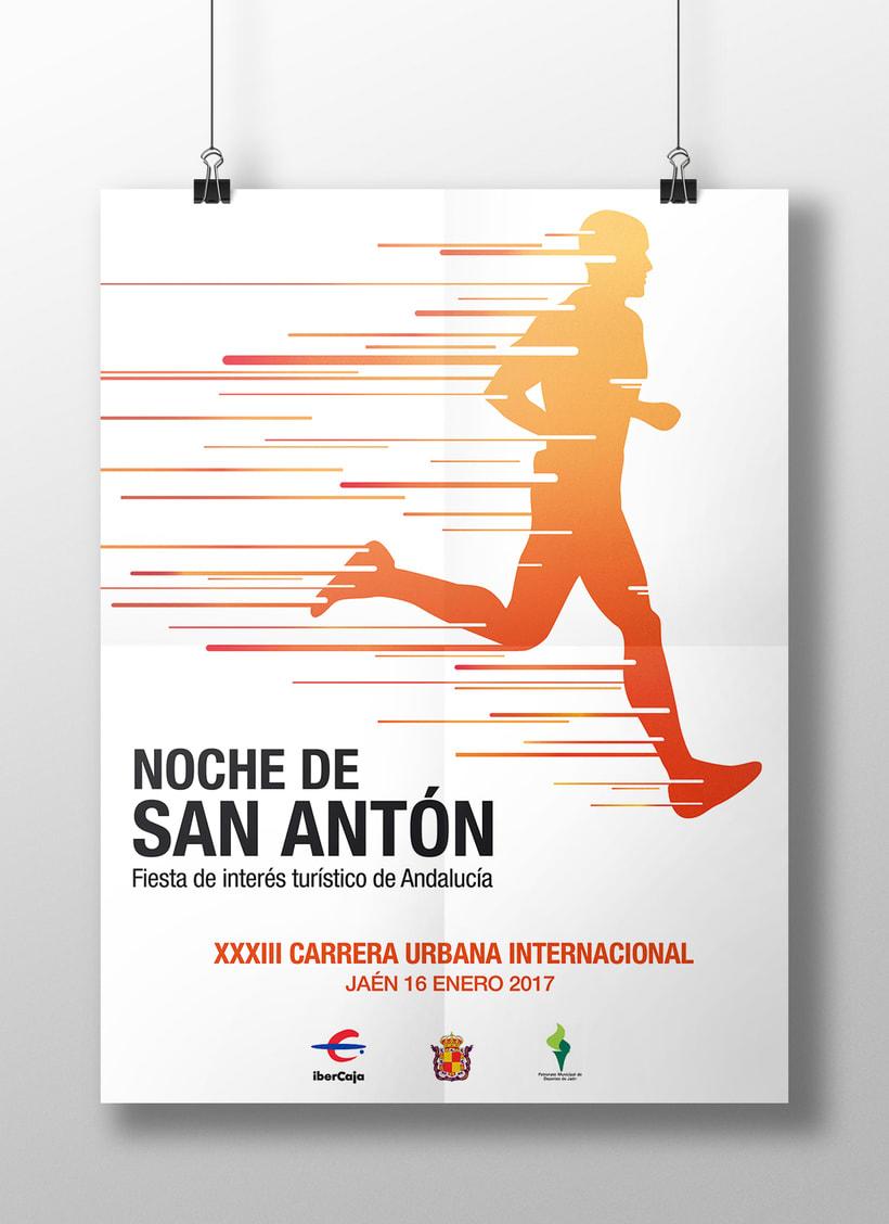 Campaña publicitaria - Carrera de San Antón 1