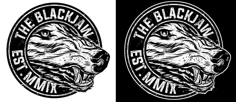 The Blackjaw - Men of Prey (Album artwork, diseño de logo y merch ) 2