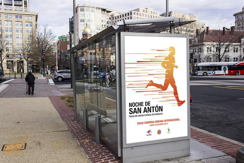 Campaña publicitaria - Carrera de San Antón 2