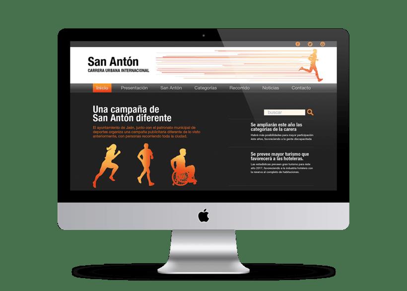 Campaña publicitaria - Carrera de San Antón 3
