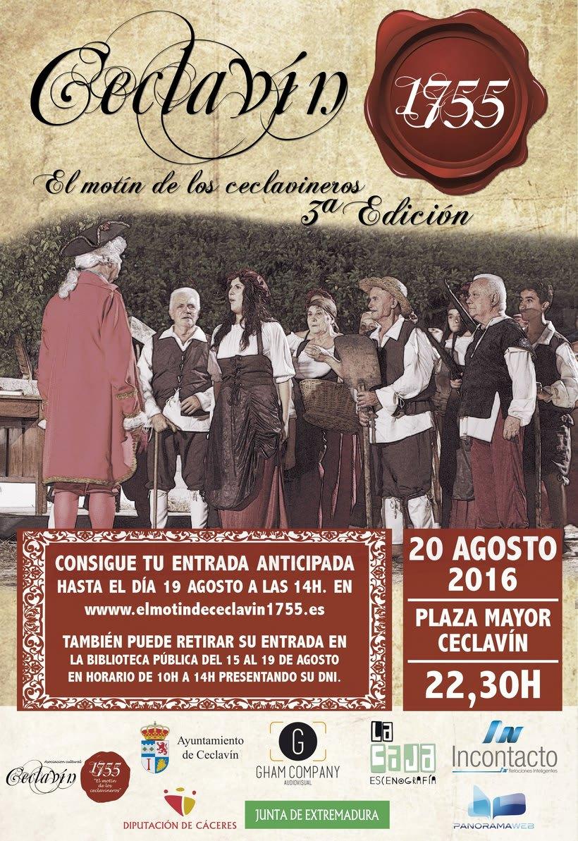 Ceclavín 1755 - teatro popular 1