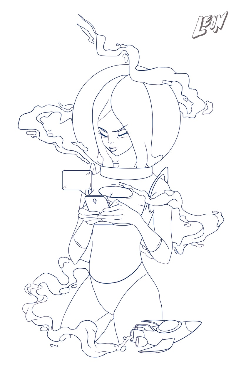 Cosmic Girl 1