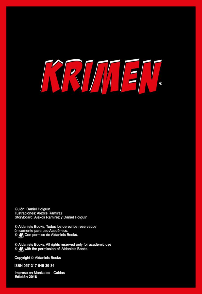 Cómic Krimen 0