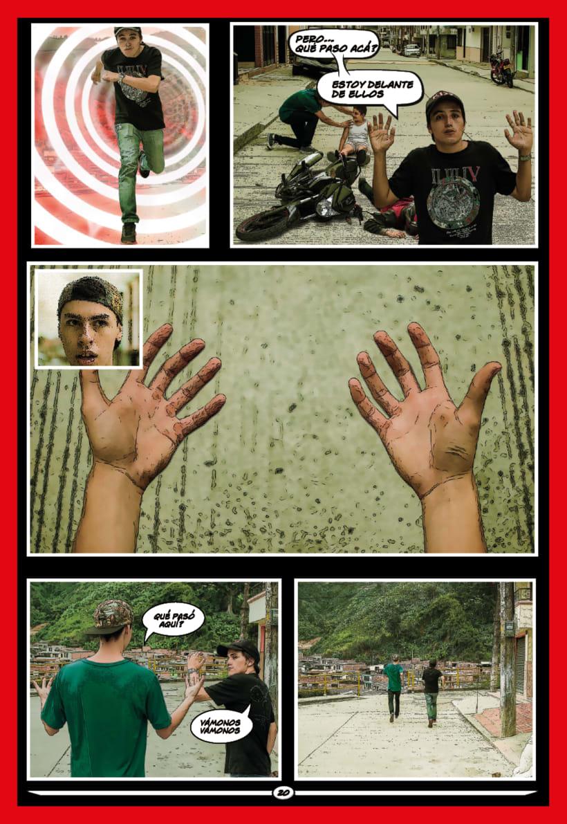 Cómic Krimen 21