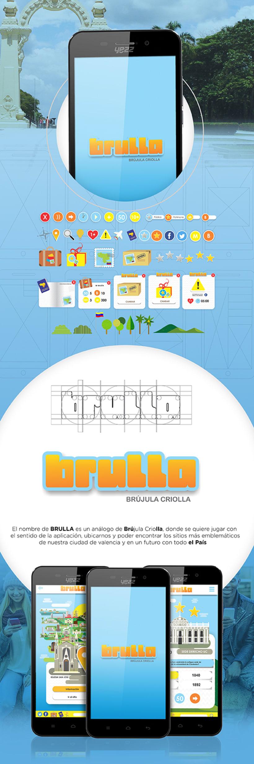 Diseño App móvil - brújula Criolla  0
