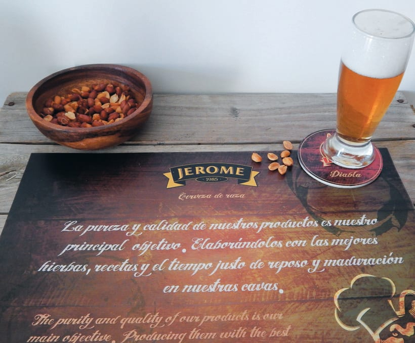 Packaging cerveza artesanal ¨JEROME¨ 13