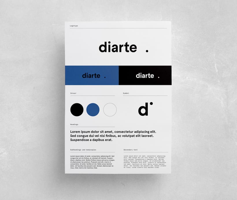 Diarte visual identity design 8