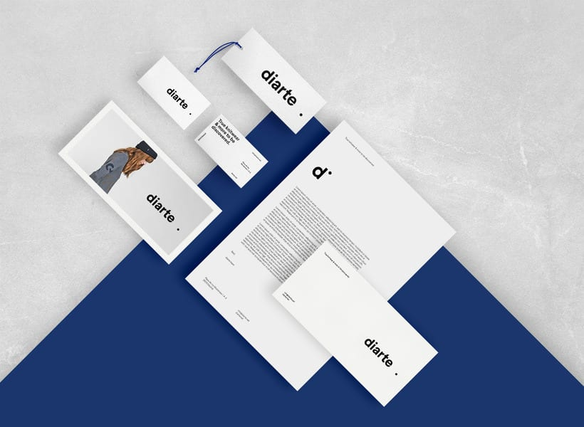 Diarte visual identity design 11