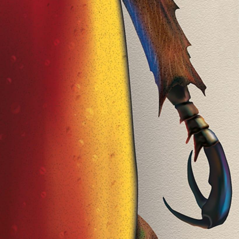 Chrysina Aurigas roja 5