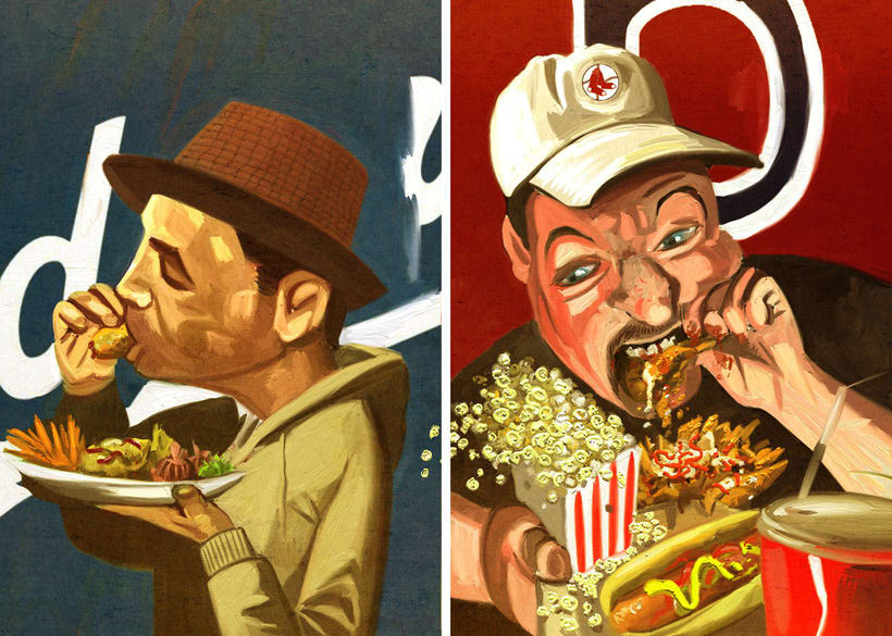 Ilustraciones para Food Republic 5