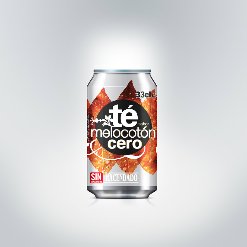 Nuevo sabor té melocotón cero, Mercadona 1