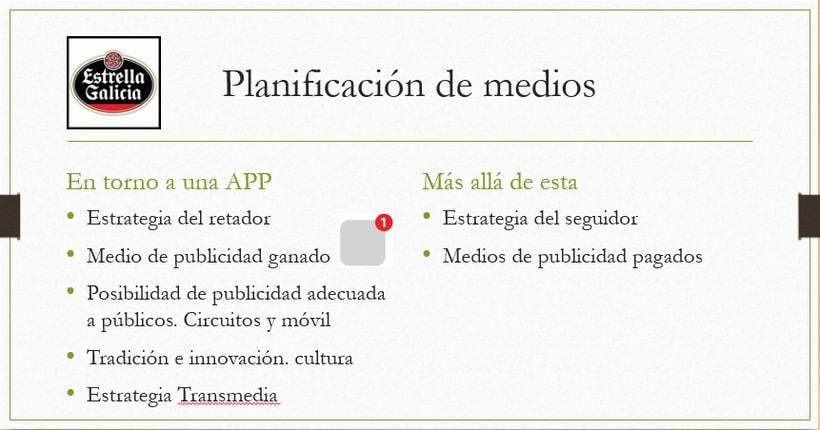Desarrollo de una APP. Estrella Galicia 1