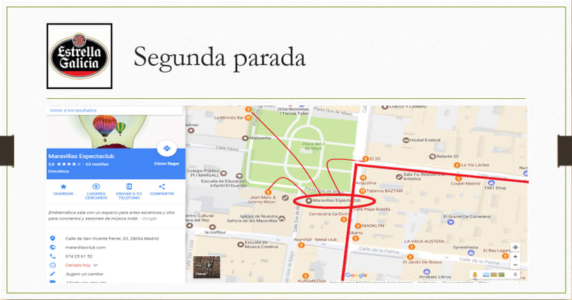 Desarrollo de una APP. Estrella Galicia 6