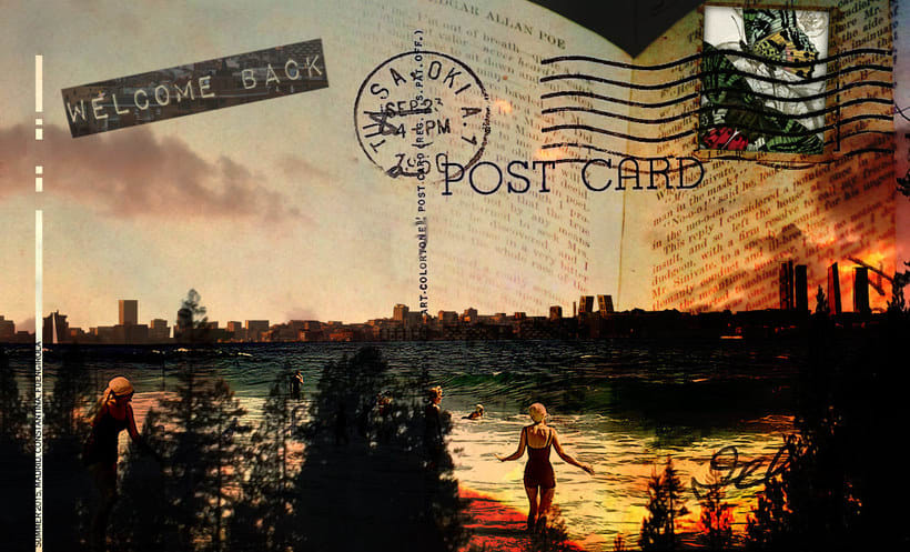 Post Card Collage 0