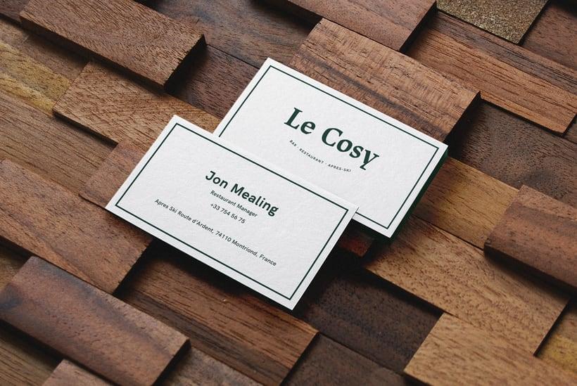 Le Cosy Bar 1