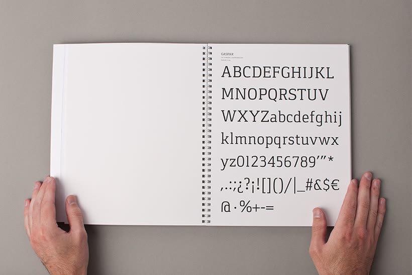 Tipografía Gaspar 9