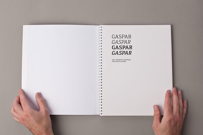 Tipografía Gaspar 8