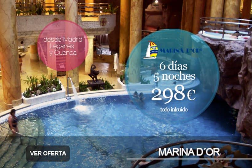Publicidad y Página Web, imagen corporativa, y posicionamiento de  Agencia de Viajes Xaritour.  3