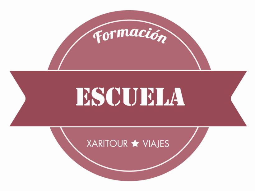Publicidad y Página Web, imagen corporativa, y posicionamiento de  Agencia de Viajes Xaritour.  6