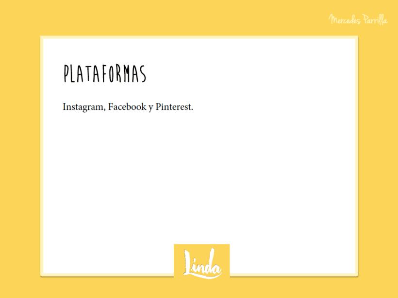 Linda. Proyecto del curso: Introducción al Social Media 10