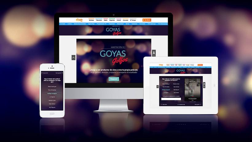 Generador de carteles Goyas Golfos 2017Nuevo proyecto 2