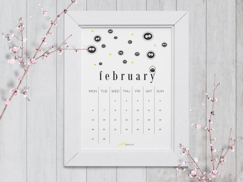 Calendario Febrero 2017 0