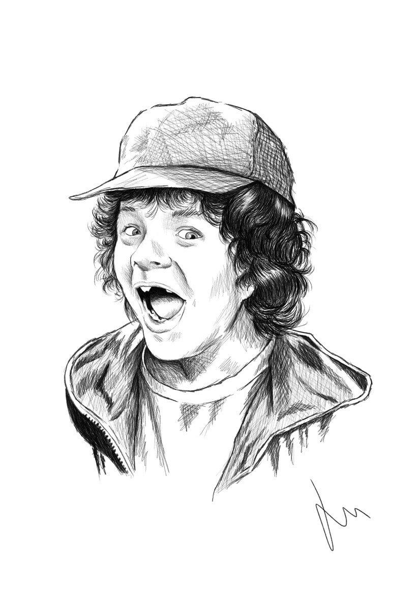 Dustin, Stranger Things 0