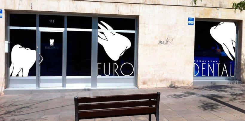 Creación de imagen corporativa de Eurodental 1