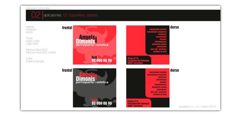 Creación de manual corporativo para centro de estetica 2