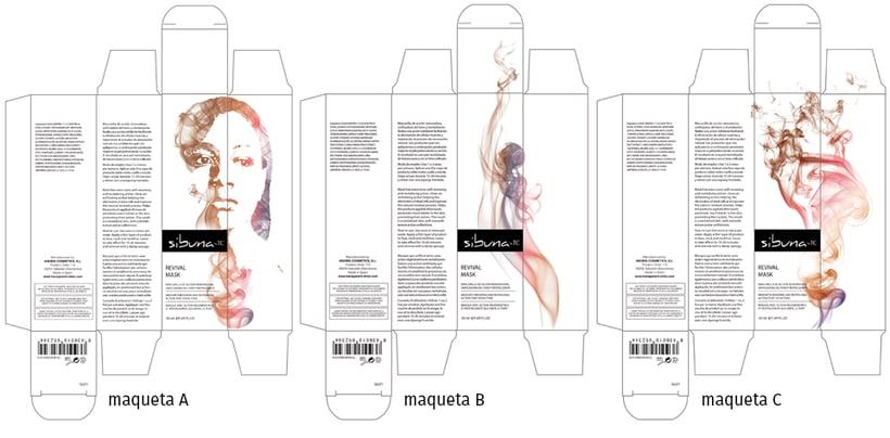 Diseño de la imagen gráfica para una linea de cosméticos para gente de piel de color -1