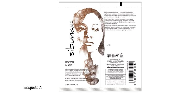 Diseño de la imagen gráfica para una linea de cosméticos para gente de piel de color 0