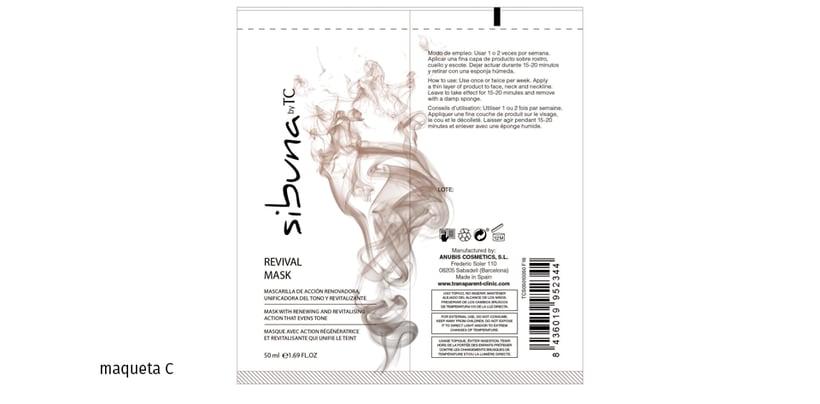 Diseño de la imagen gráfica para una linea de cosméticos para gente de piel de color 2