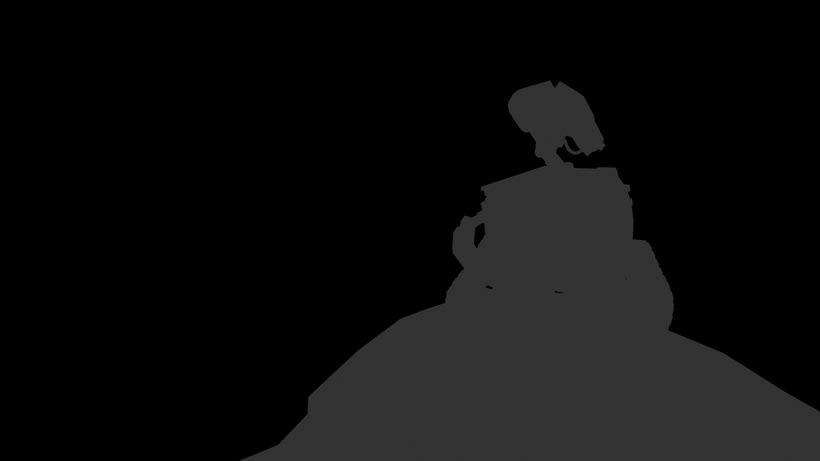 Modaleado 3d en maya: Wall.e 1