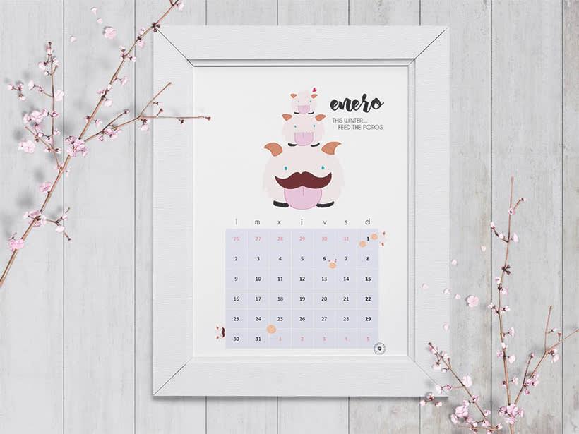 Calendario Enero 2017 -1