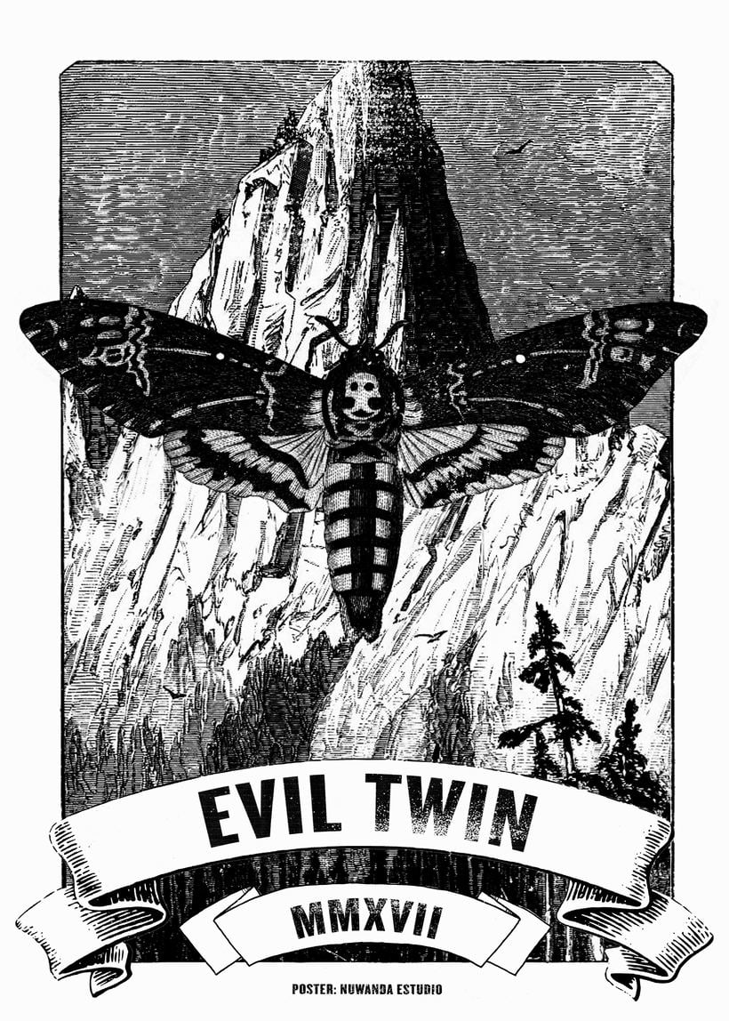 Evil Twin MMXVII [Póster] 1