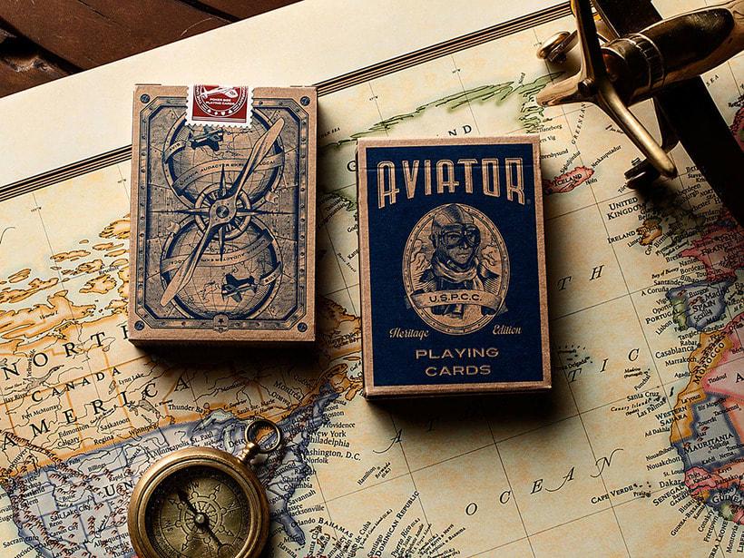 Aviator Playing cards 1
