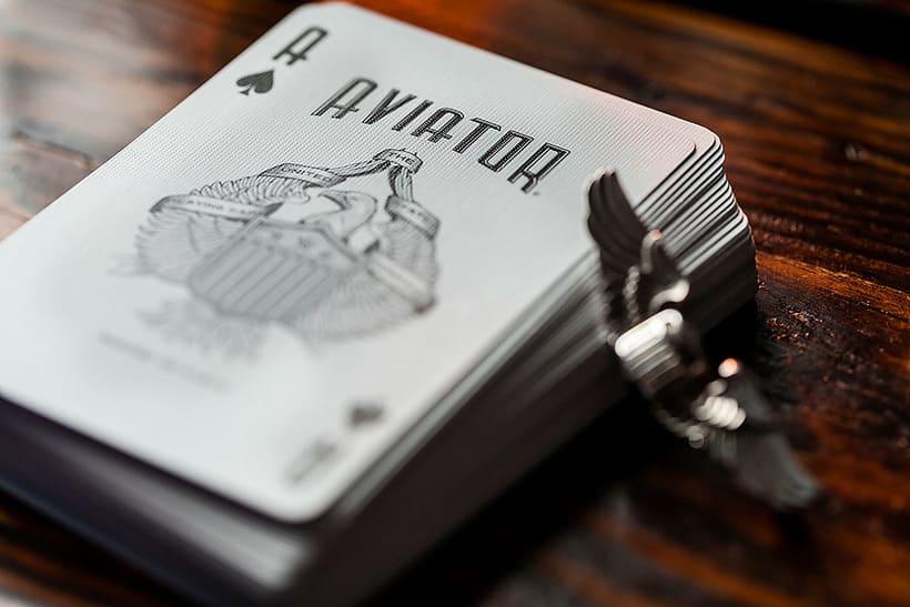 Aviator Playing cards 3