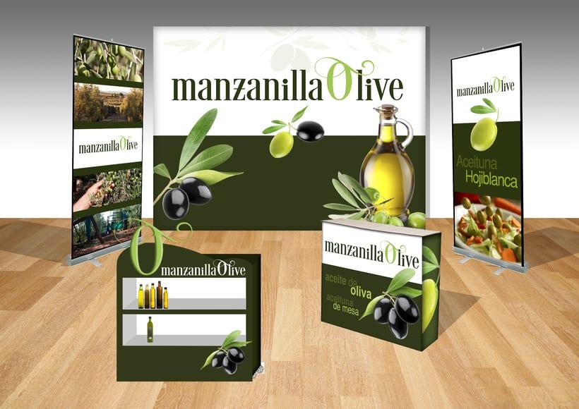 Proyecto STAND FERIA - Manzanilla Olive -1