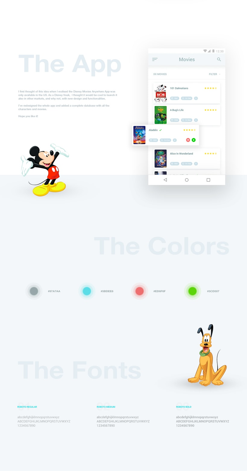 Disney Movies Anywhere - Mobile App Redesign 0
