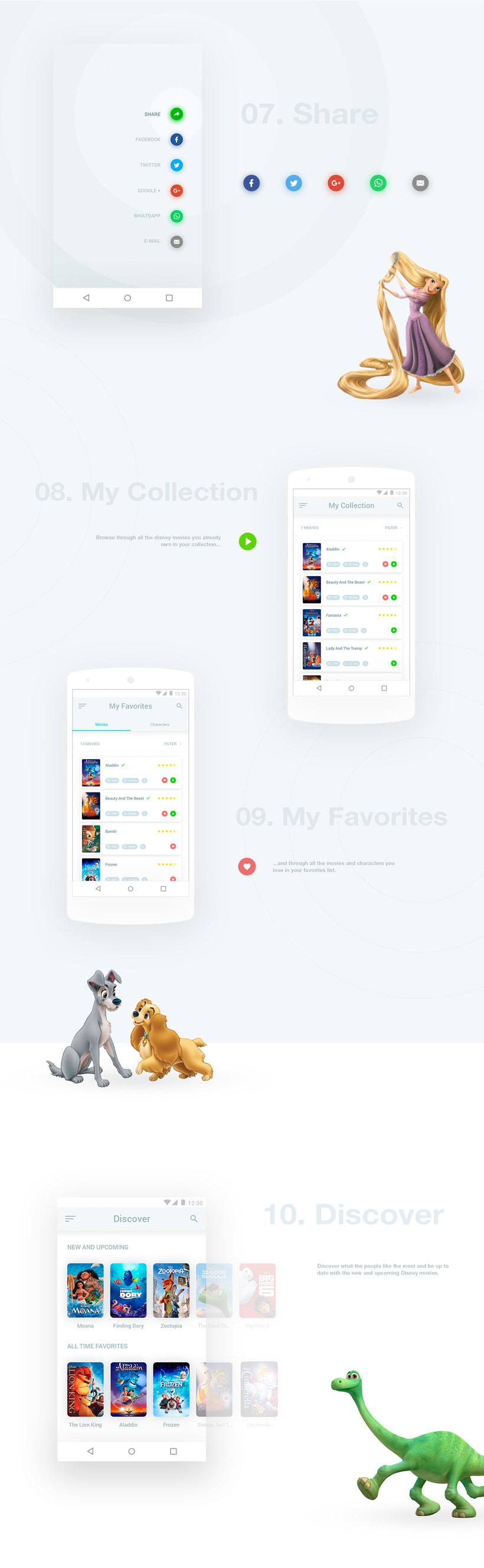 Disney Movies Anywhere - Mobile App Redesign 5