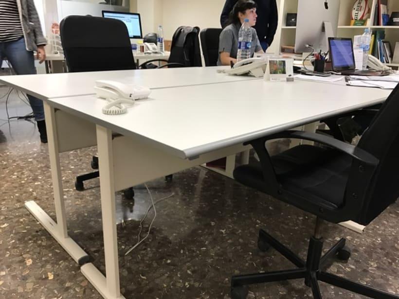 Compartimos espacios de trabajo en Barcelona 1