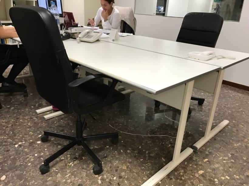 Compartimos espacios de trabajo en Barcelona 2