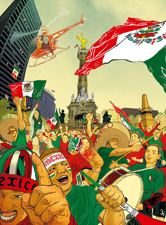 Acuarela, tinta china y digital en las ilustraciones de Jilipollo 21