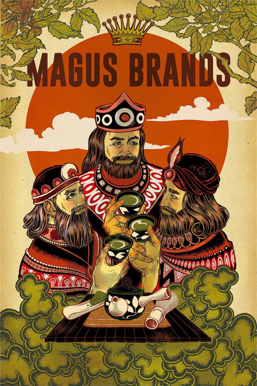 Acuarela, tinta china y digital en las ilustraciones de Jilipollo 22