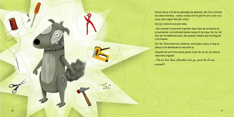 El conte del llop carregat de mocs 0