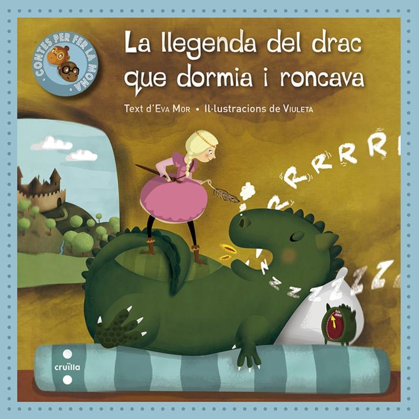 La llegenda del drac que dormia i roncava -1