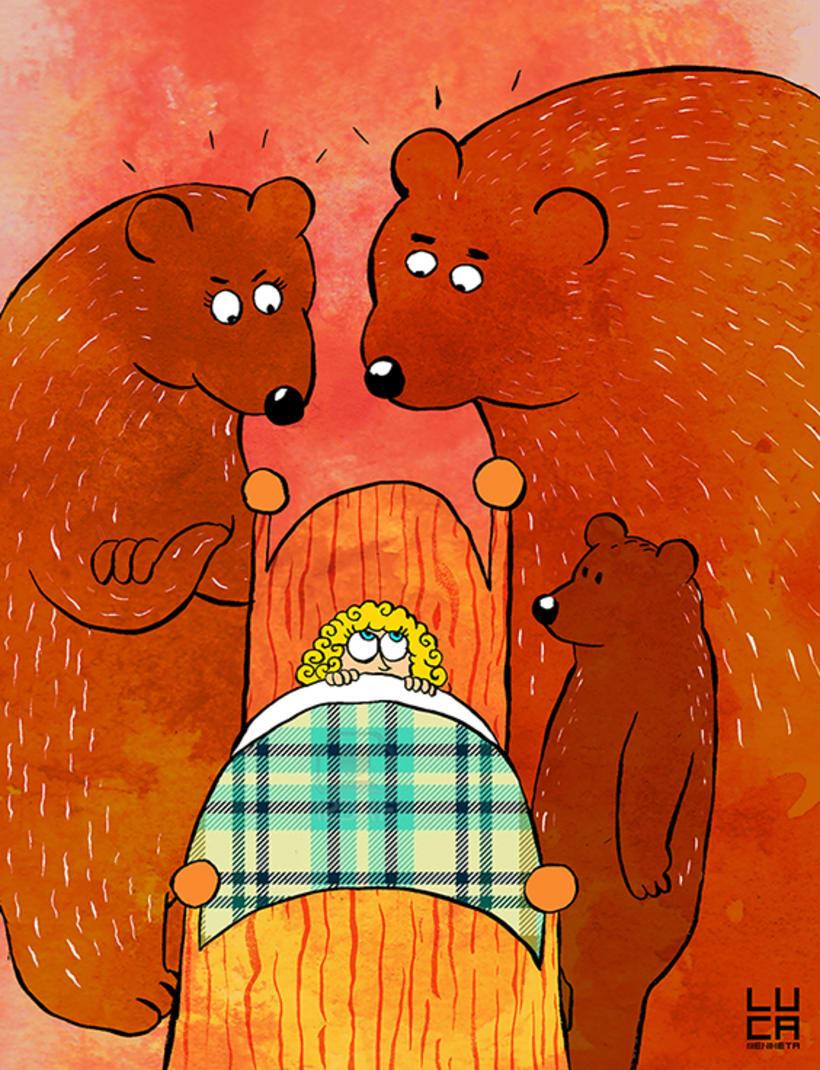 Ilustraciones para cuentos infantiles 1