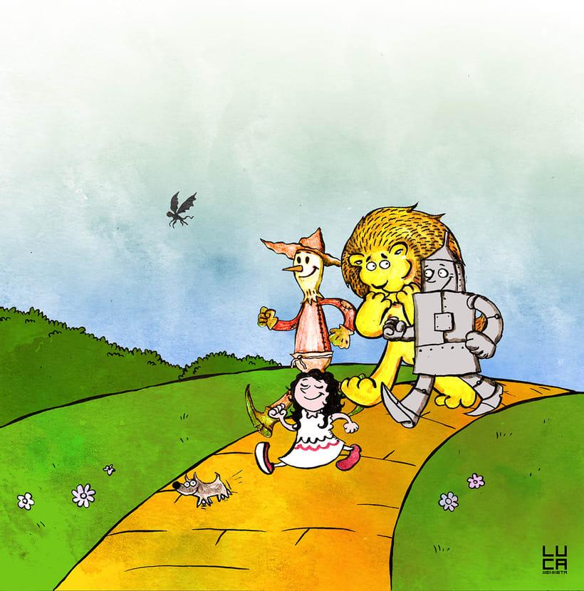 Ilustraciones para cuentos infantiles 3