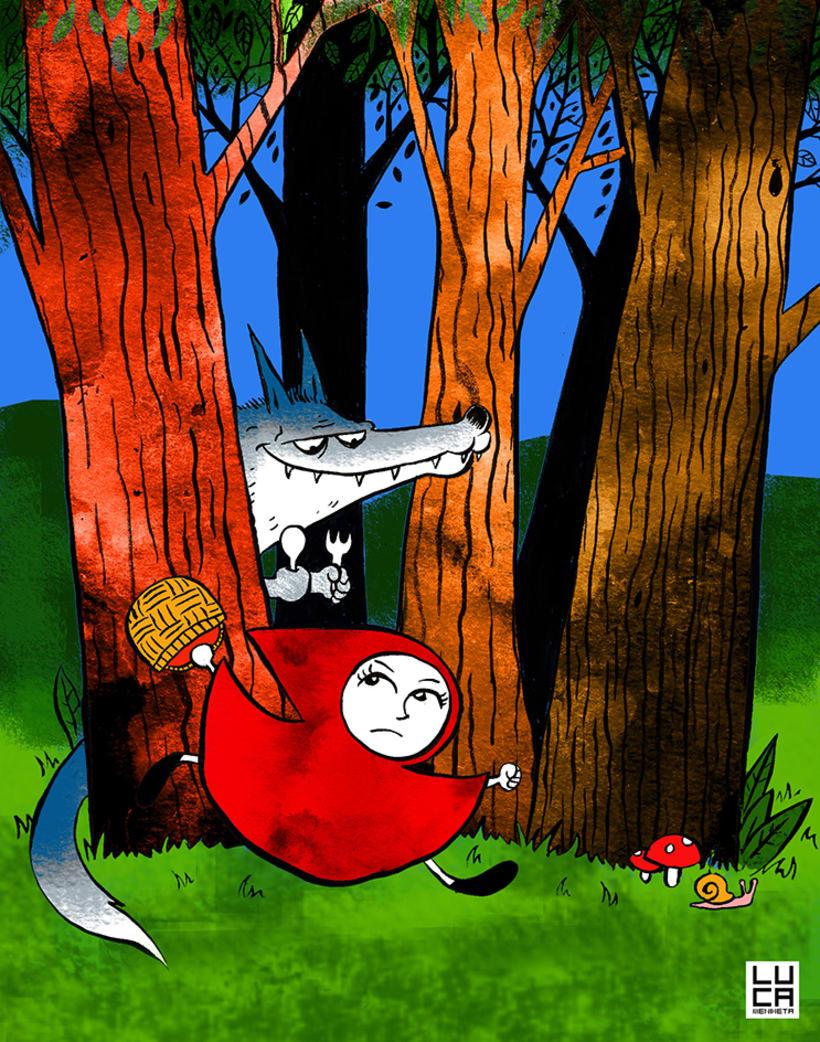 Ilustraciones para cuentos infantiles 0