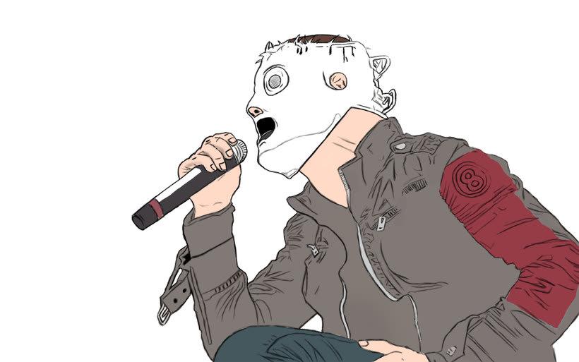 Corey Taylor de Slipknot 3